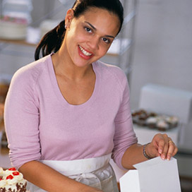 Woman Baker Business Owner